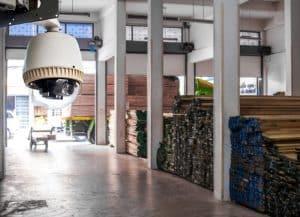 Los sistemas de videovigilancia mejoran la seguridad en almacenes y centros de logística o distribución