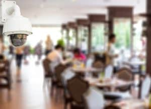 sistemas de videovigilancia para restaurantes y bares