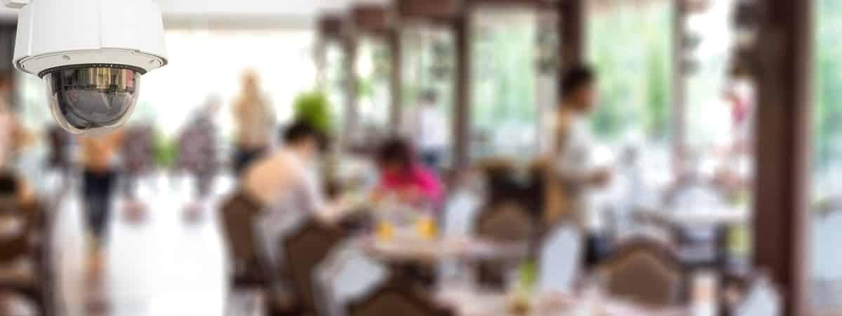 sistemas de videovigilancia para restaurantes o bares