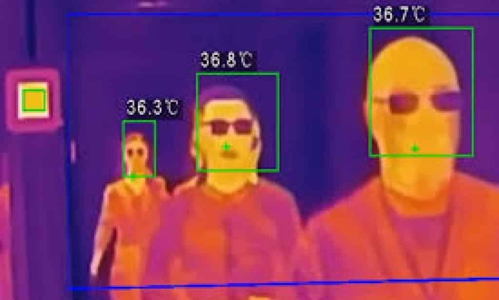 videovigilancia con cámaras termográficas