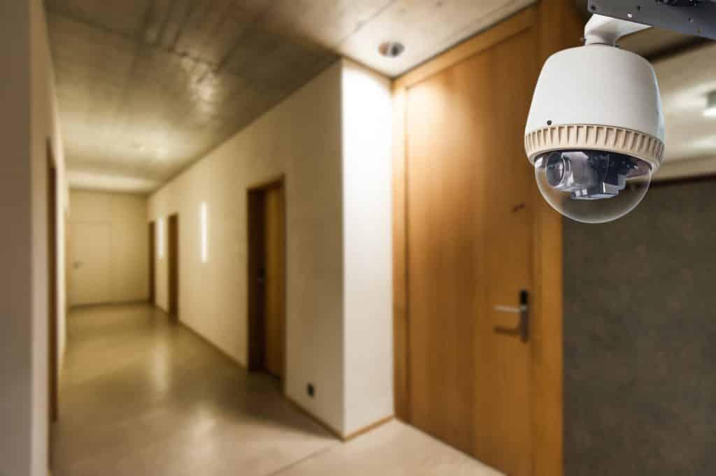 cámaras de videovigilancia en hoteles